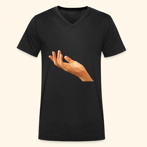 Mitt Märke - Ekologisk T-shirt med V-ringning herr från Stanley & Stella