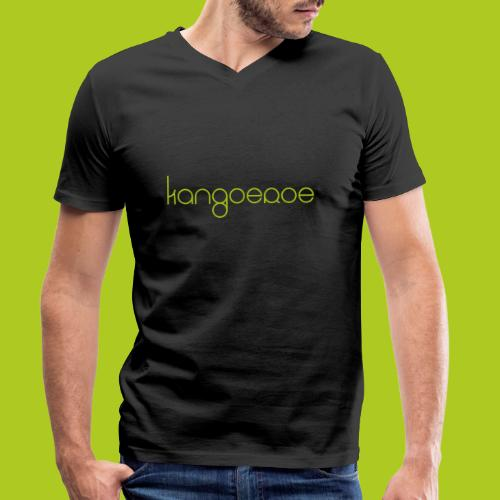 Green Kangoeroe design - T-shirt bio col V Stanley & Stella Homme