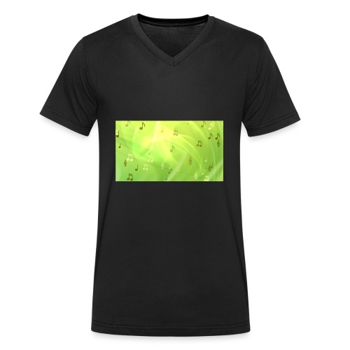 nihath vlogs merch now - Men's Organic V-Neck T-Shirt by Stanley & Stella