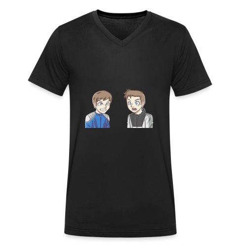 BAD PANDA & EPIC MONSTER - T-shirt bio col V Stanley & Stella Homme