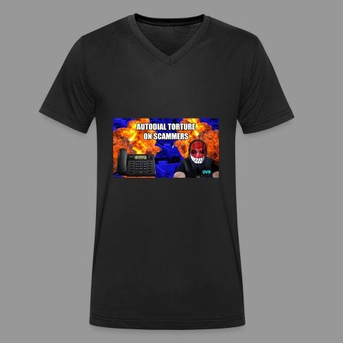 deeveeaar autodial shirt - Men's Organic V-Neck T-Shirt by Stanley & Stella