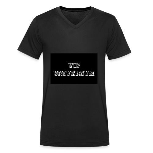 Universum - Männer Bio-T-Shirt mit V-Ausschnitt von Stanley & Stella