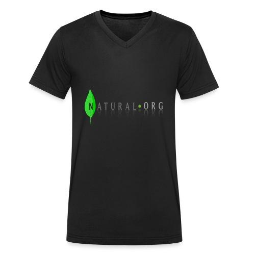 natural frees - Camiseta ecológica hombre con cuello de pico de Stanley & Stella
