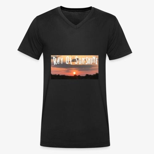 Ray of sunshine - Men's Organic V-Neck T-Shirt by Stanley & Stella