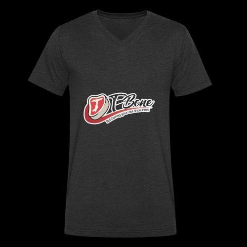ulfTBone - Mannen bio T-shirt met V-hals van Stanley & Stella