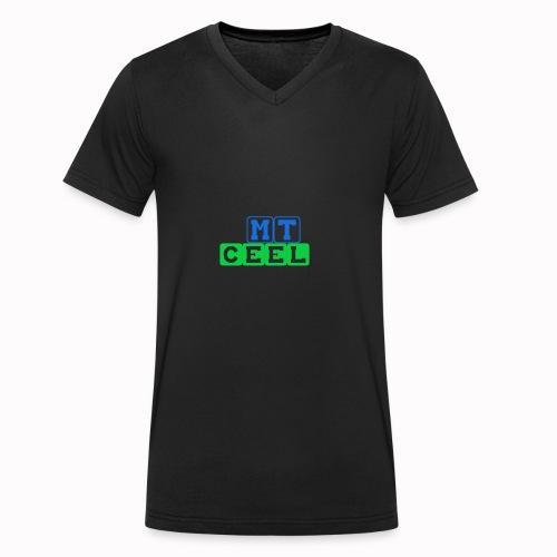 mtceelbloks - Mannen bio T-shirt met V-hals van Stanley & Stella