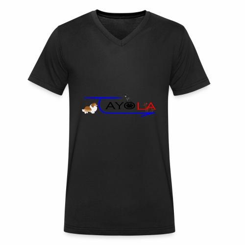 Tayola Black - T-shirt bio col V Stanley & Stella Homme