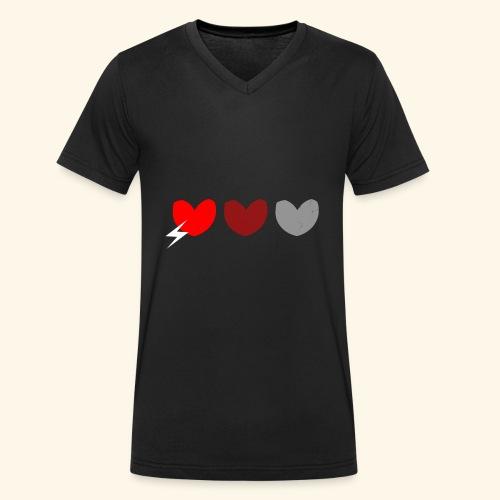 3hrts - Økologisk Stanley & Stella T-shirt med V-udskæring til herrer