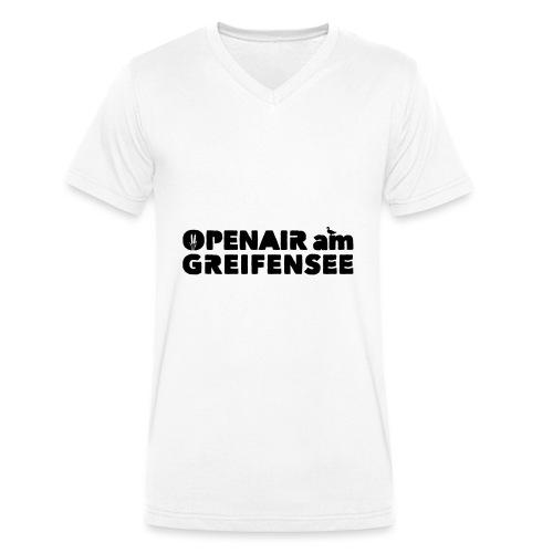 Openair am Greifensee 2018 - Männer Bio-T-Shirt mit V-Ausschnitt von Stanley & Stella