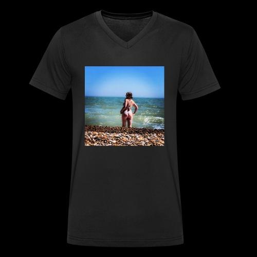 Ruby's Design - Men's Organic V-Neck T-Shirt by Stanley & Stella