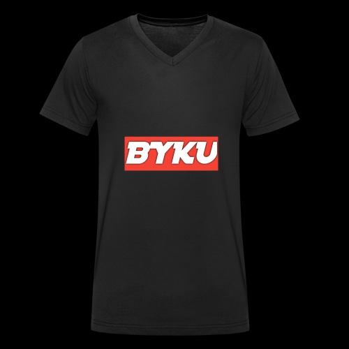 BYKUclothes - Ekologiczna koszulka męska z dekoltem w serek Stanley & Stella