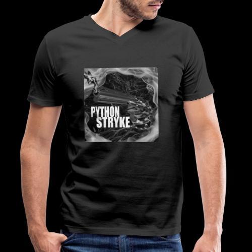 Python Stryke - Men's Organic V-Neck T-Shirt by Stanley & Stella