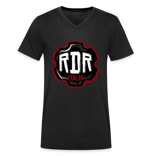 Logo Ufficiale RdR Italia - T-shirt ecologica da uomo con scollo a V di Stanley & Stella