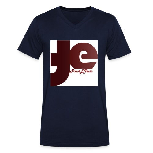company logo - Men's Organic V-Neck T-Shirt by Stanley & Stella