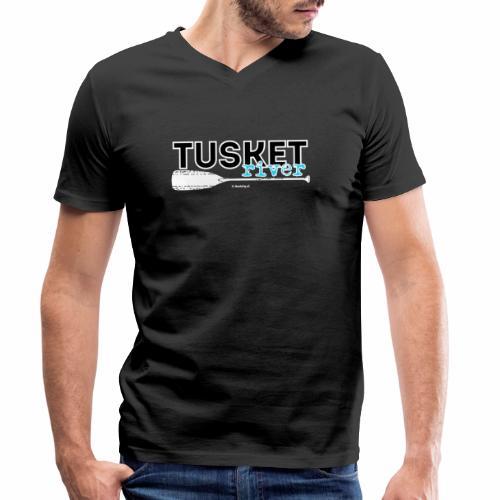 Tusket River - Mannen bio T-shirt met V-hals van Stanley & Stella
