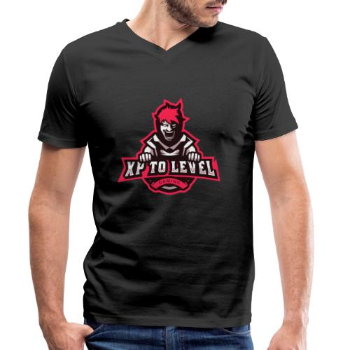XP To Level Merchandise - Level Up Your Merch! - Men's Organic V-Neck T-Shirt by Stanley & Stella