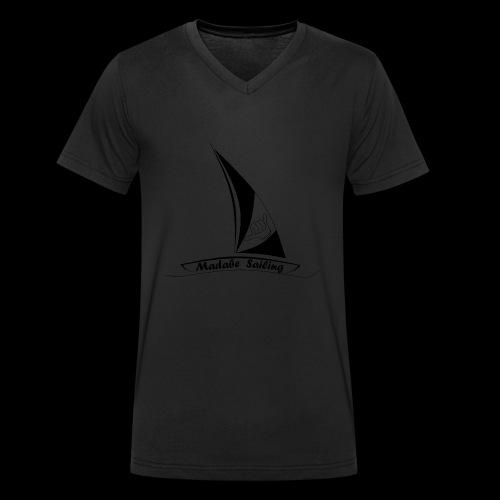 Madabe Sailing - Männer Bio-T-Shirt mit V-Ausschnitt von Stanley & Stella