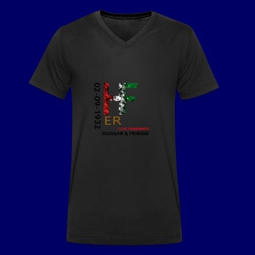 H&F ER - T-shirt ecologica da uomo con scollo a V di Stanley & Stella