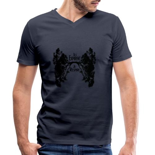 Oxygène - T-shirt bio col V Stanley & Stella Homme