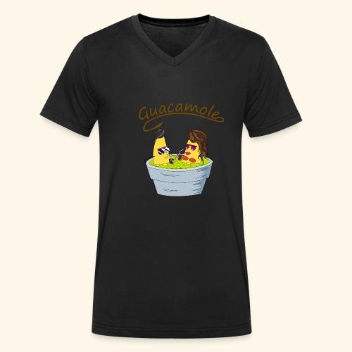 Guacamole - Camiseta ecológica hombre con cuello de pico de Stanley & Stella