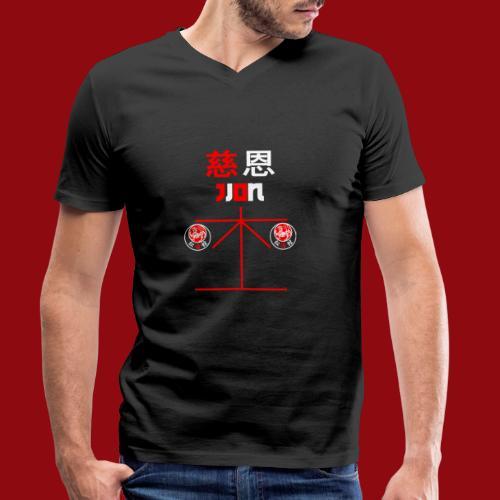 Jion - Shotokan Kata - Karate - Japan - Männer Bio-T-Shirt mit V-Ausschnitt von Stanley & Stella