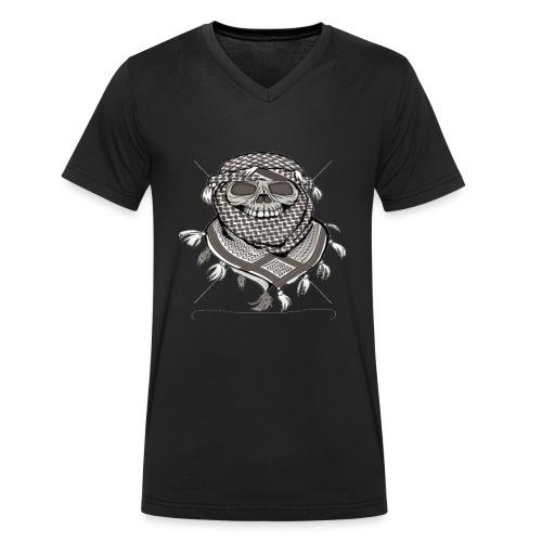 Krieger - Männer Bio-T-Shirt mit V-Ausschnitt von Stanley & Stella