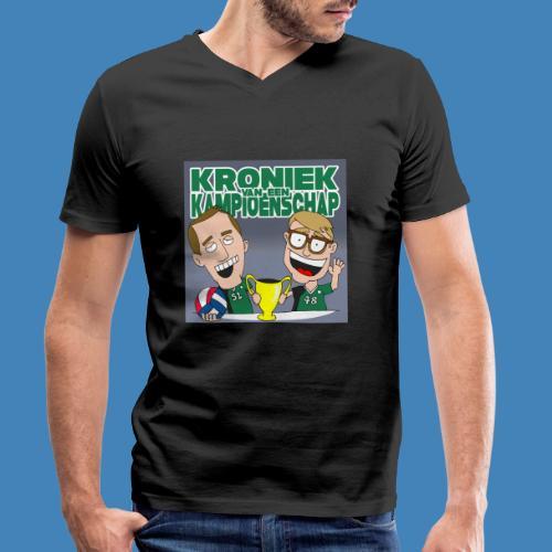 Kroniek van een Kampioenschap - Mannen bio T-shirt met V-hals van Stanley & Stella