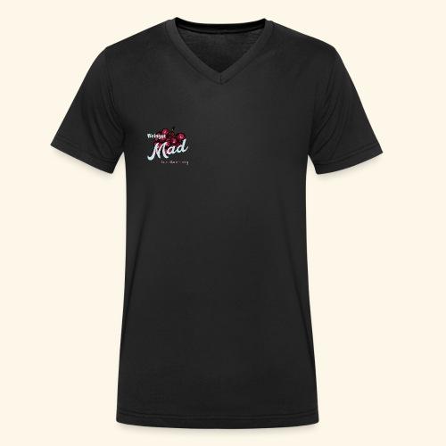 Rote Traube - Männer Bio-T-Shirt mit V-Ausschnitt von Stanley & Stella