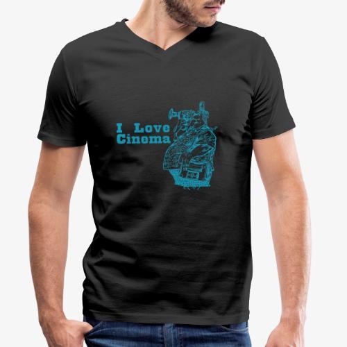 Photography 9AZ - Camiseta ecológica hombre con cuello de pico de Stanley & Stella