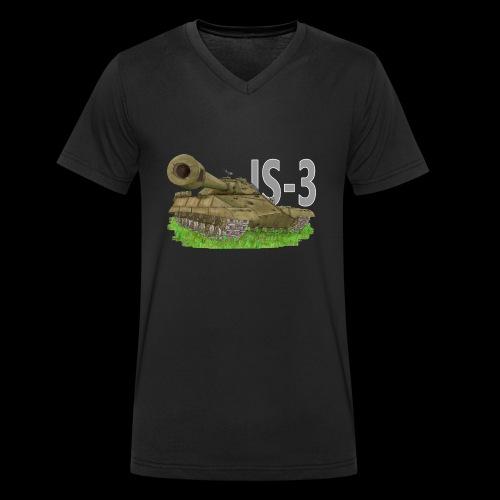 IS-3 (Writing) - T-shirt ecologica da uomo con scollo a V di Stanley & Stella