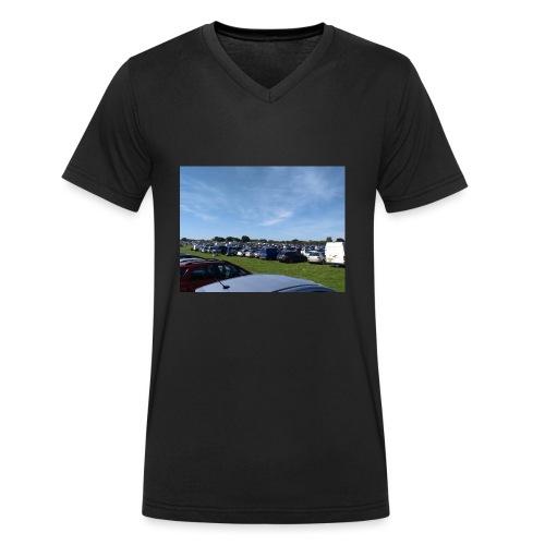 IMG 20170813 103442 - Men's Organic V-Neck T-Shirt by Stanley & Stella