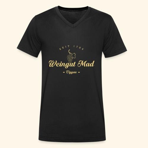 Golden Times - Männer Bio-T-Shirt mit V-Ausschnitt von Stanley & Stella