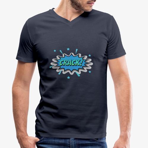 Dibujos Animados 01 - Camiseta ecológica hombre con cuello de pico de Stanley & Stella