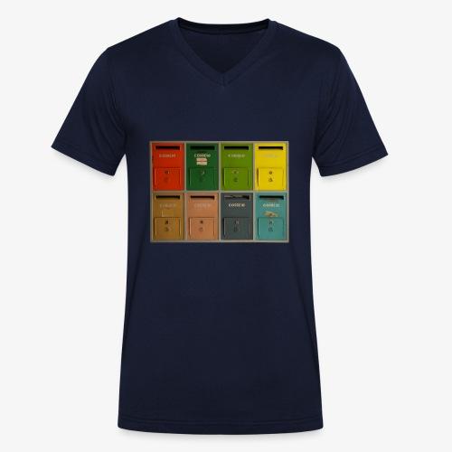 Briefkasten - Männer Bio-T-Shirt mit V-Ausschnitt von Stanley & Stella