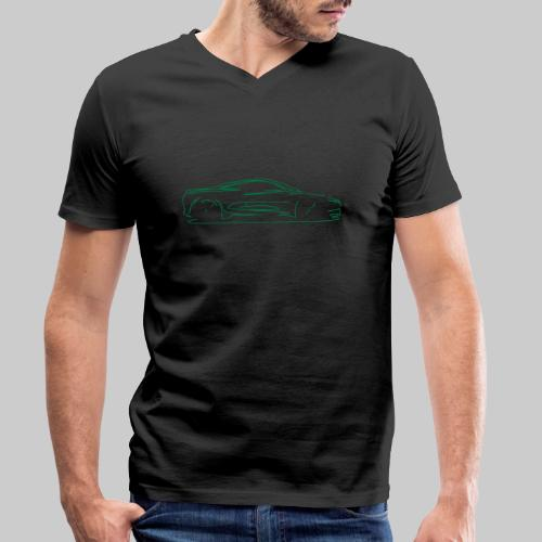 car sketch - Men's Organic V-Neck T-Shirt by Stanley & Stella