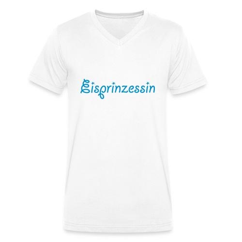 Eisprinzessin, Ski Shirt, T-Shirt für Apres Ski - Männer Bio-T-Shirt mit V-Ausschnitt von Stanley & Stella