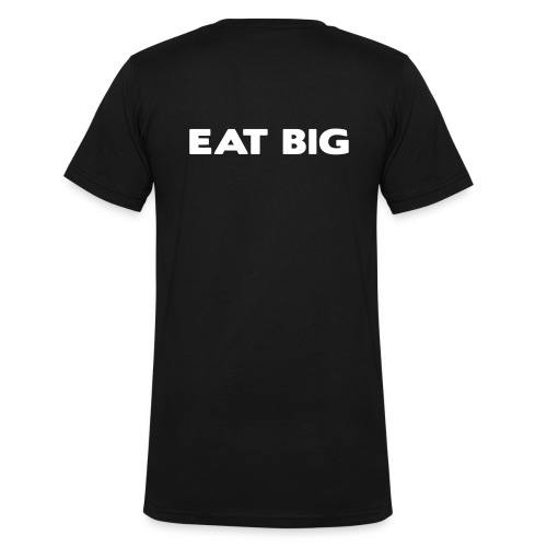 eatbig - Men's Organic V-Neck T-Shirt by Stanley & Stella