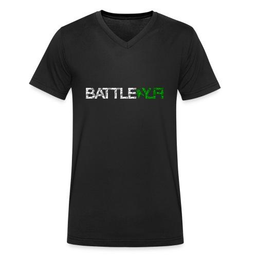 Logo_1_vorn - Männer Bio-T-Shirt mit V-Ausschnitt von Stanley & Stella