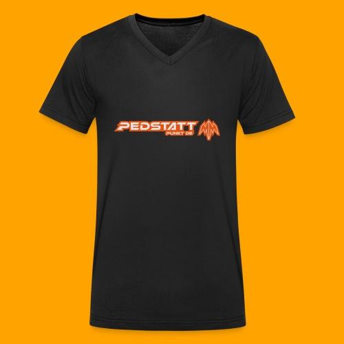Pedstatt_LogoMashup_006 - Männer Bio-T-Shirt mit V-Ausschnitt von Stanley & Stella