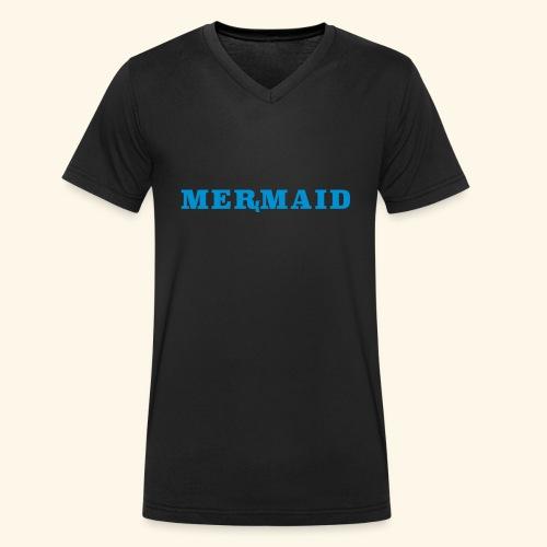 Mermaid logo - Ekologisk T-shirt med V-ringning herr från Stanley & Stella
