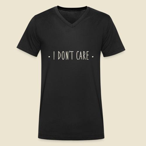 I don't care - T-shirt bio col V Stanley & Stella Homme