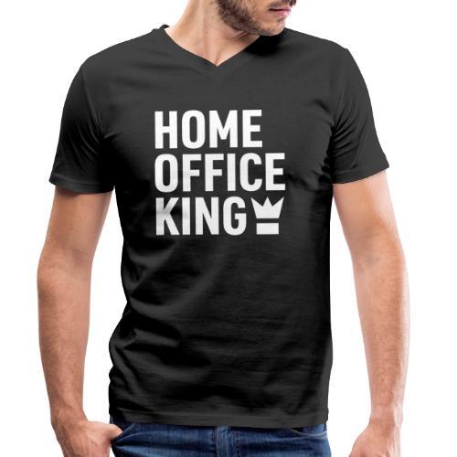 Mitarbeiter Kollege Home Office Quarantäne Corona - Männer Bio-T-Shirt mit V-Ausschnitt von Stanley & Stella