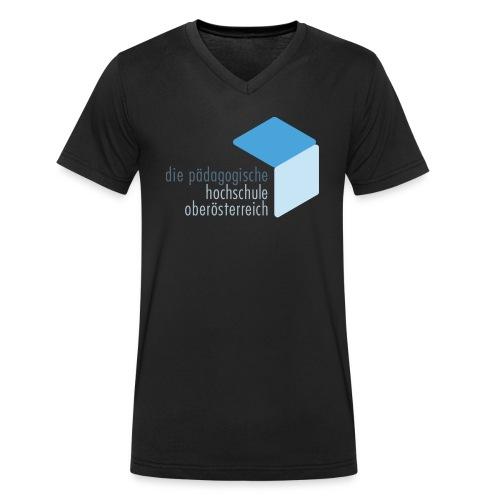PHOOE Logo Fanshop colour - Männer Bio-T-Shirt mit V-Ausschnitt von Stanley & Stella