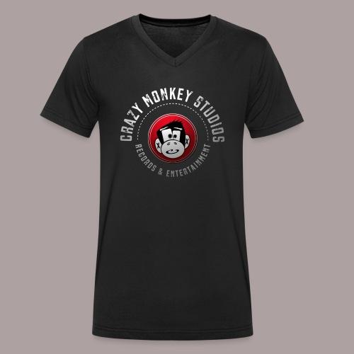 CMS Weiss Rot shirt png - Männer Bio-T-Shirt mit V-Ausschnitt von Stanley & Stella