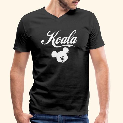 Koala Kawaii Comic Design für Australien Fans - Männer Bio-T-Shirt mit V-Ausschnitt von Stanley & Stella