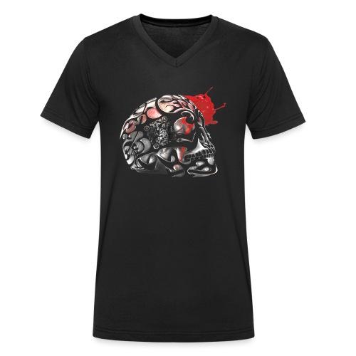 Le trésor de Levasseur TOME 2 argent - T-shirt bio col V Stanley & Stella Homme