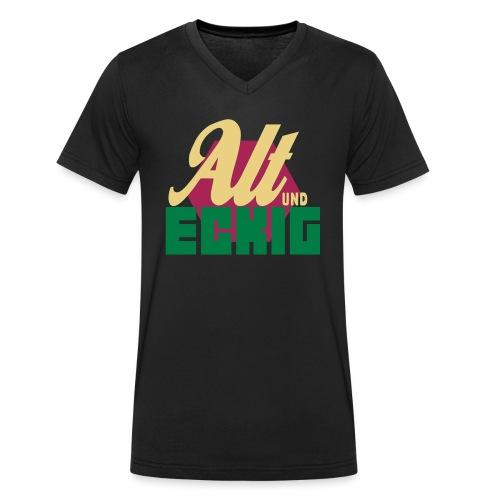 AltUndEckig-Logo - Männer Bio-T-Shirt mit V-Ausschnitt von Stanley & Stella