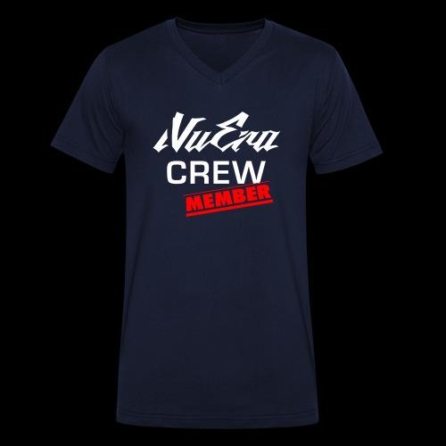 NuEra Crew Logo 2018 - Männer Bio-T-Shirt mit V-Ausschnitt von Stanley & Stella
