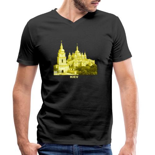 Kiev Kiew Ukraine Sophienkathedrale Kirche - Männer Bio-T-Shirt mit V-Ausschnitt von Stanley & Stella