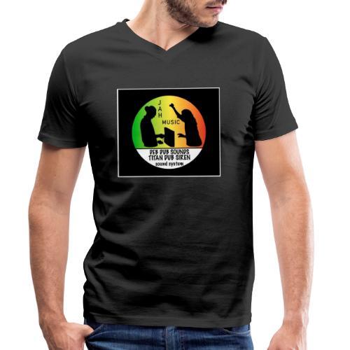 Deb Dub & Titan Dub Siren - Men's Organic V-Neck T-Shirt by Stanley & Stella